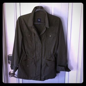 Jackets & Blazers - Gap- army green jacket